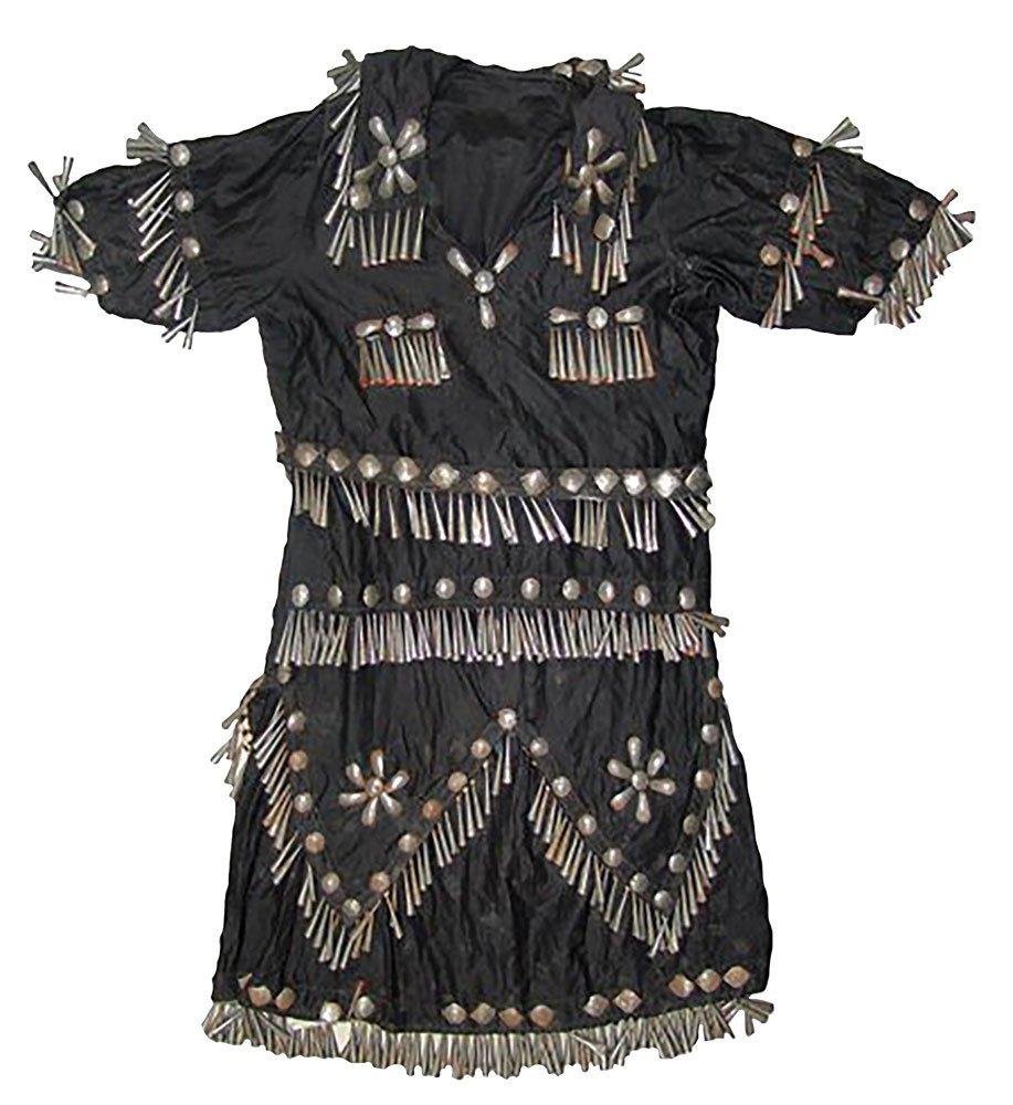 Native American Woodlands Jingle Dress.  Early 1900s.