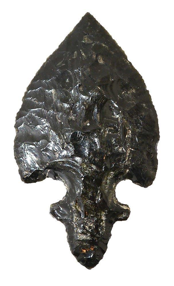 """4"""" Mayan Dagger.  Teotihuacan, MX.  Obsidian.  Rare"""