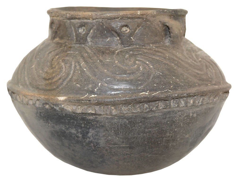 """6 7/8"""" D. Compound Jar.  AR.   Roy Hathcock.  Pictured"""