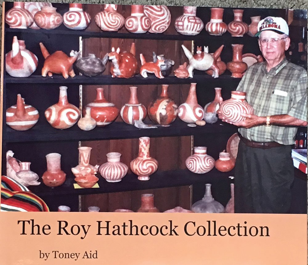 "6 7/8"" D. Compound Jar.  AR.   Roy Hathcock.  Pictured - 5"