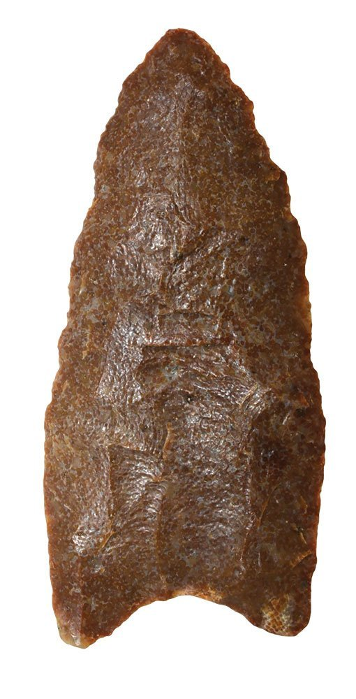 "2 3/4"" Clovis.  Kentucky.  Quartzite.  Rogers COA."