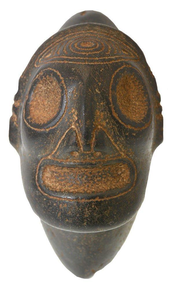 "7 1/4"" Taino Ancestor Three Pointer.  Hispaniola."