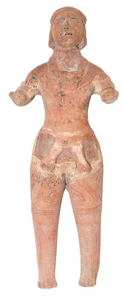 "7 7/8"" H. Terra Cotta Figure.  Colima.  MX.  500 BC to"