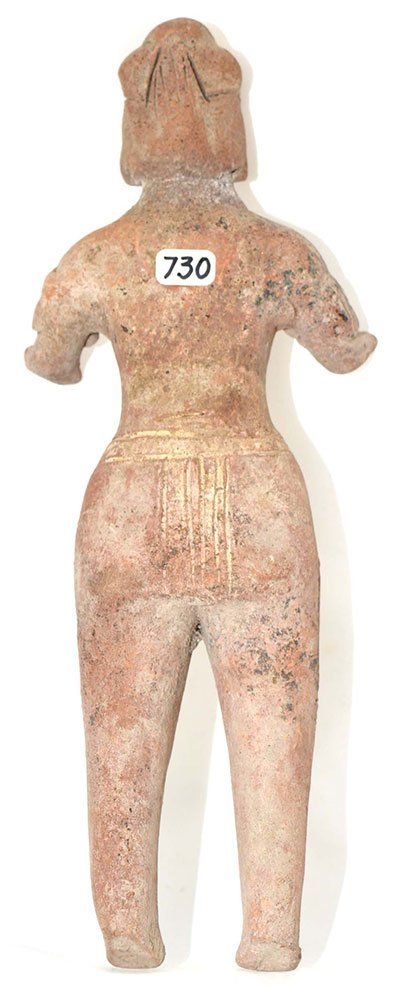 "7 7/8"" H. Terra Cotta Figure.  Colima.  MX.  500 BC to - 2"