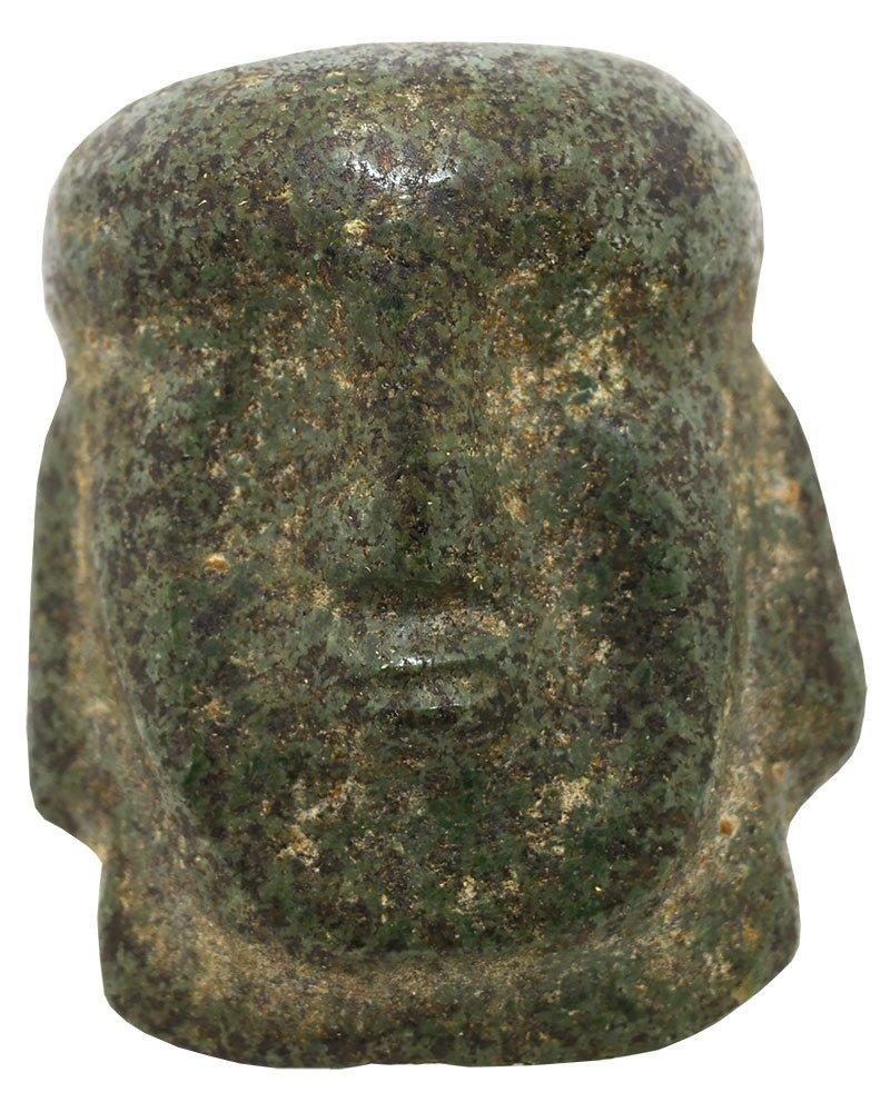 "2 1/8"" Pre-Columbian Chontal Maskette.  Possibly Olmec."