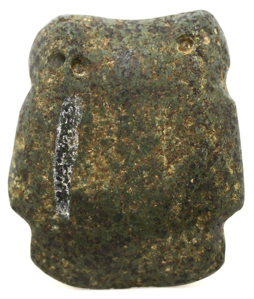 "2 1/8"" Pre-Columbian Chontal Maskette.  Possibly Olmec. - 2"
