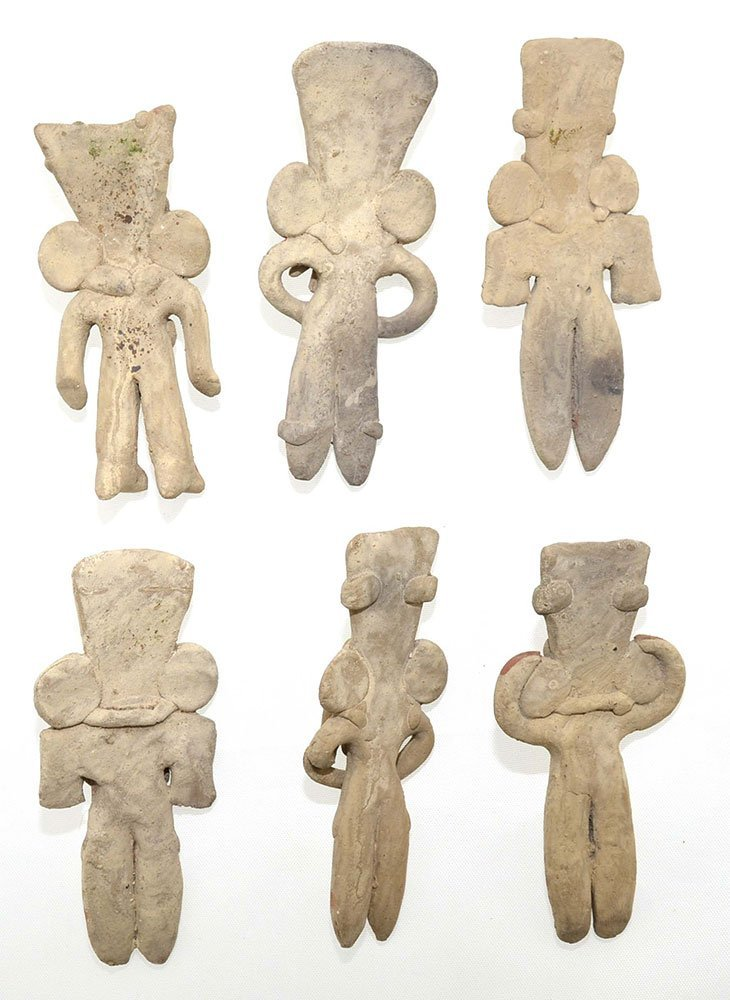 Excellent group of 6 Western Mexico Figurines (500 BC - 2