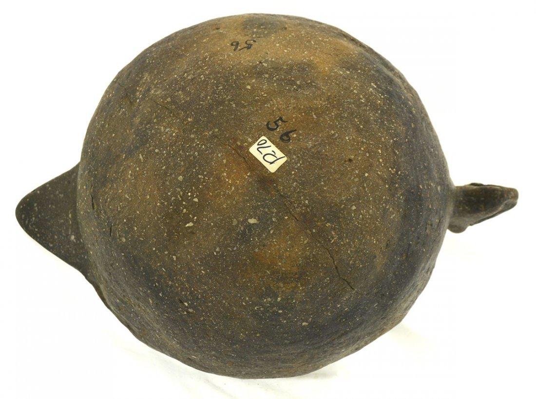 "8 7/8"" D. Rim Effigy (Bird) Bowl.  Solid bowl. - 4"