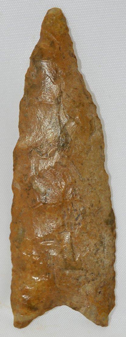"3 5/8"" Redstone.  TN.  Davis G7+ COA.  Classic shape, - 2"