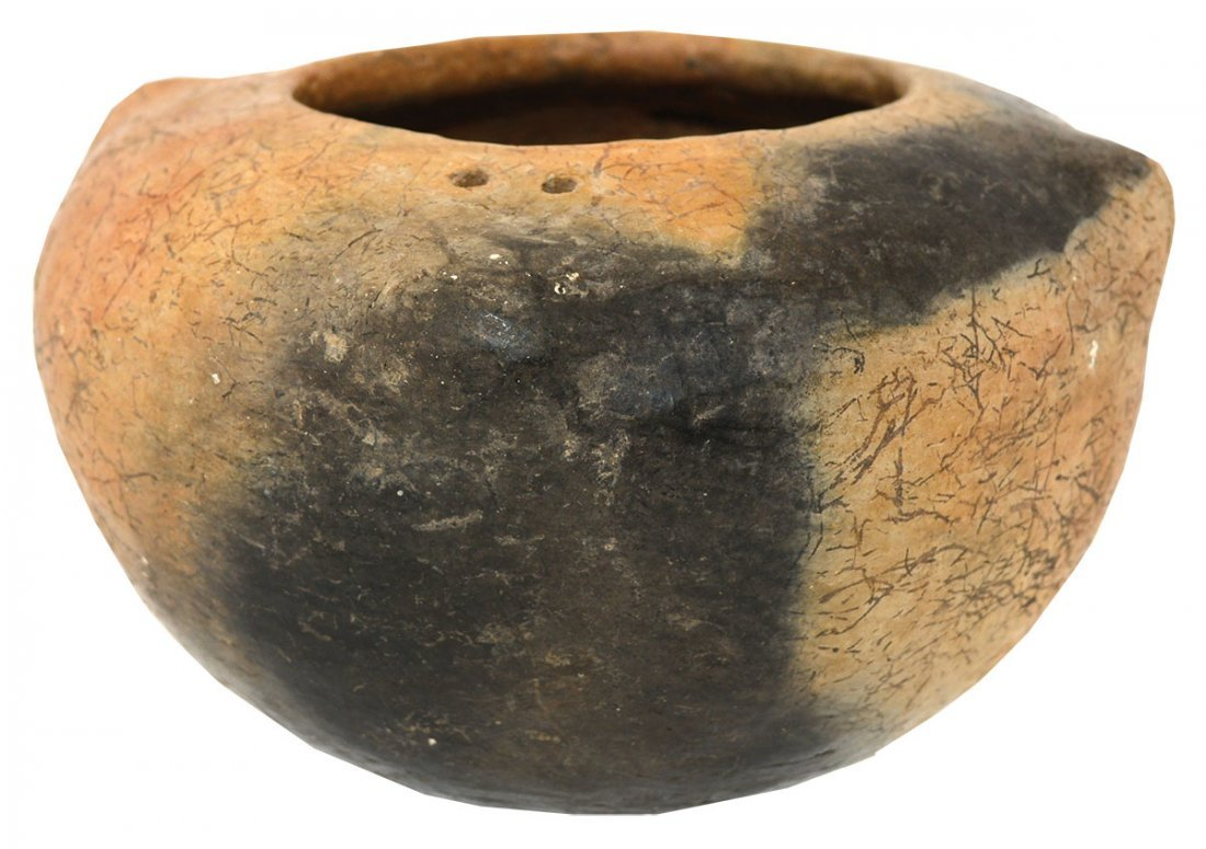 "5 1/4"" D. Square Lug Suspension Bowl.  Tyler Mound."
