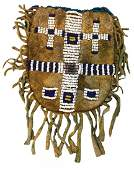 3 38 bag only Arapaho Beaded Bag  Older example