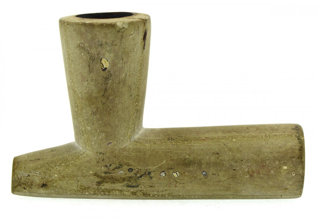 """3 3/4"""" Historic Stone T-Pipe.  Old Wisconsin - 2"""