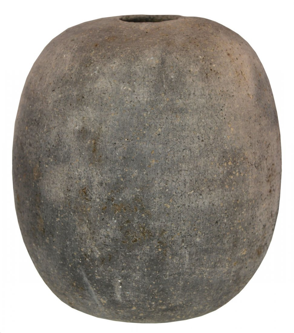 "8 1/2"" H. Seed Jar.  Clark Co, AR.  Reynolds Site."