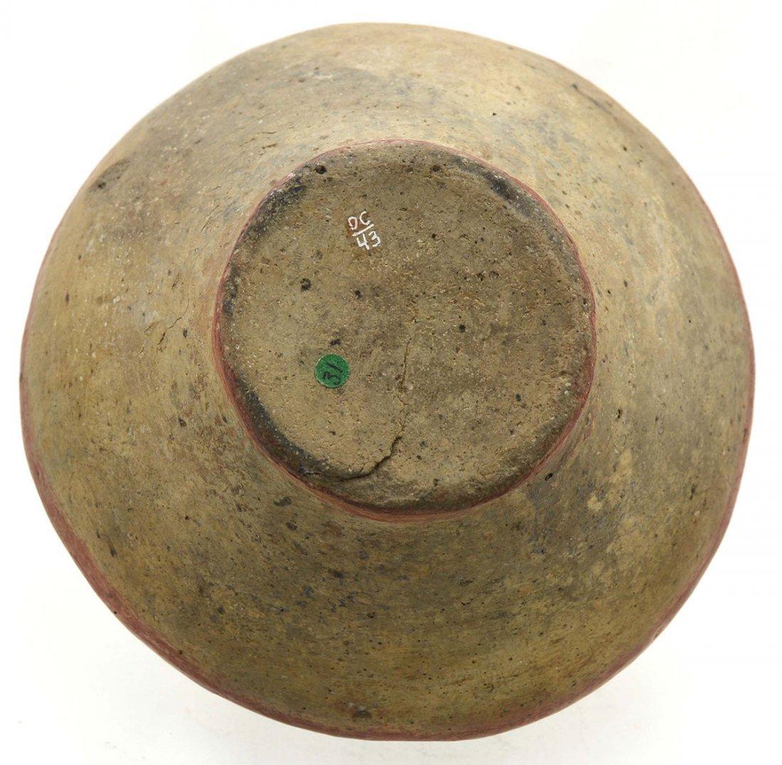 """6 1/4"""" D. Spittoon Jar.  Crittendon Co, AR.  Beck Site. - 3"""