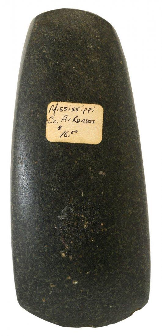 "5 3/16"" Square Sided Celt.  Mississippi Co, AR."