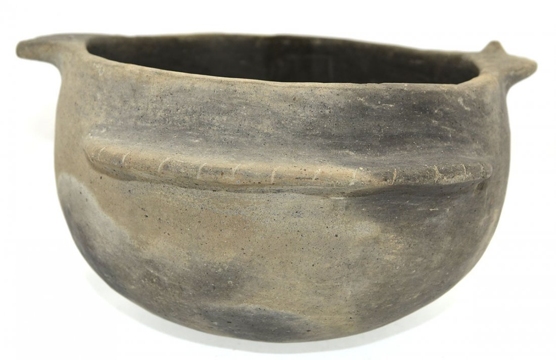 "8 1/2"" D. Mississippian Fish Effigy Bowl.  Crosskno - 4"