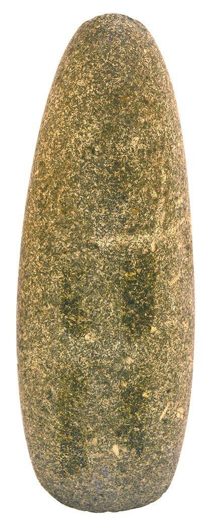 "7 11/16"" Hardstone Celt.  Knox Co, TN.  Fine polish, - 2"