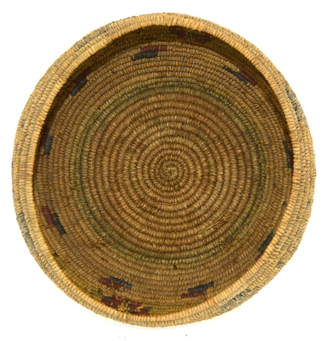 "7 3/8"" Native American Mission  Basket.  Flawless - 2"