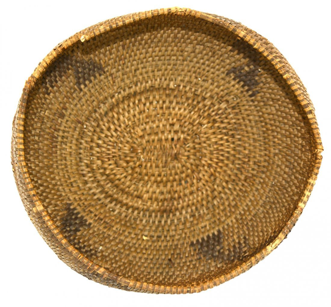 "7 3/16"" D. Eskimo Basket.  Alaska.  Hooper Bay. - 2"