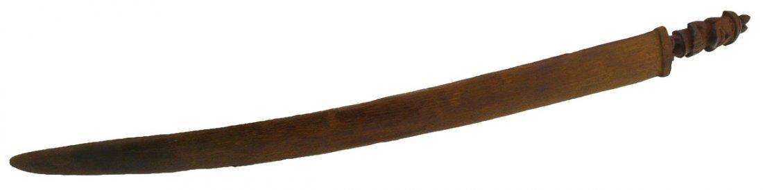 "15"" Wood Weaving Tool.  Inca (1100-1400 AD).  Peru."