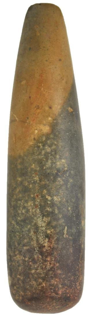"5 3/8"" Chisel.  Hamilton Co, OH.  Two-tone Hardstone."