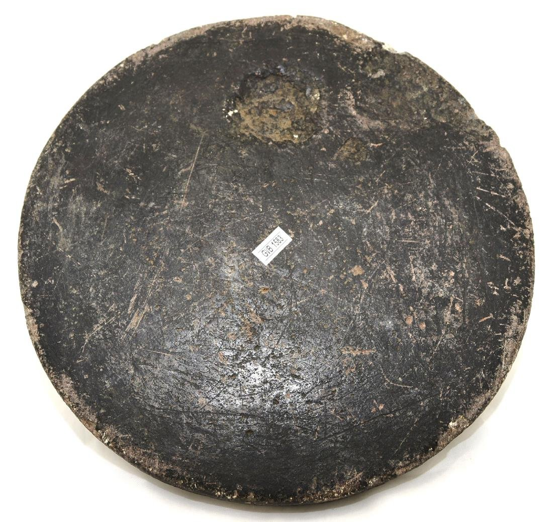 """9 5/8"""" Steatite Plate.  Tennessee.  7/8"""" thick.  Very - 2"""