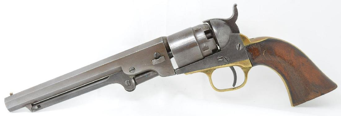Antique Colt 1851 Navy Pocket Pistol.  36 caliber.