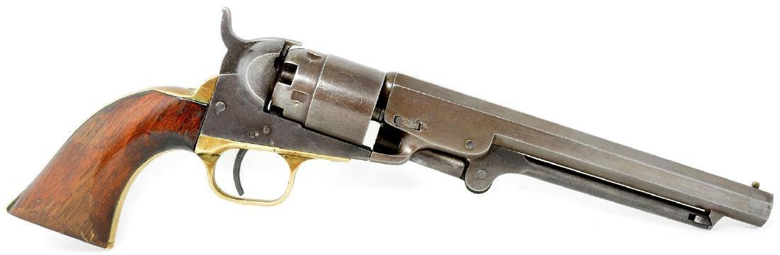 Antique Colt 1851 Navy Pocket Pistol.  36 caliber. - 5