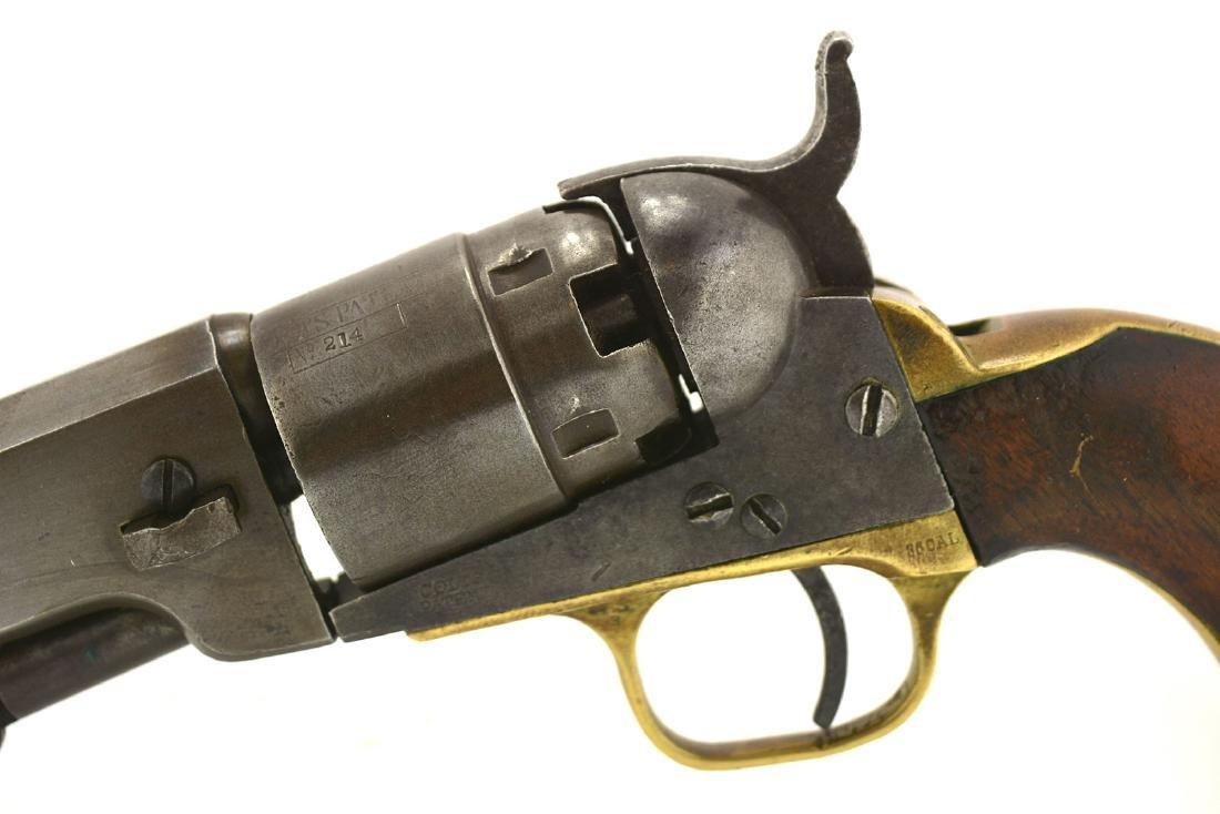 Antique Colt 1851 Navy Pocket Pistol.  36 caliber. - 6