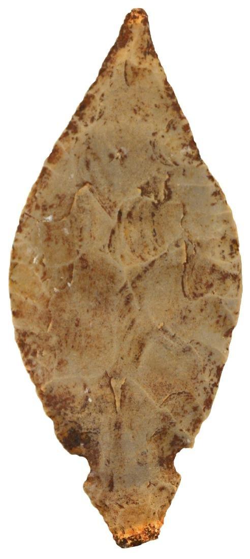 """4 1/4"""" Hornstone Turkeytail.  IN.  Thin.  Davis G10 COA"""