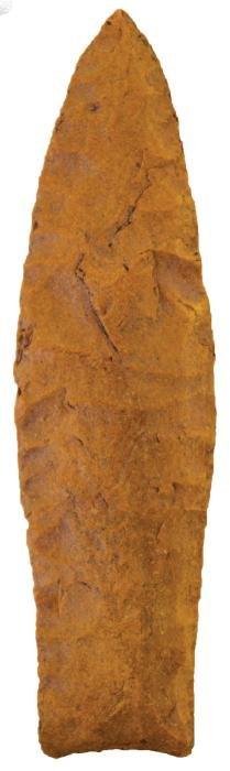 """3 11/16"""" Agate Basin.  Casper, WY.  Spanish Diggings"""
