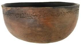 "6 1/4"" D.  Anasazi Mongollon Tularosa Fillet Rim Bowl."