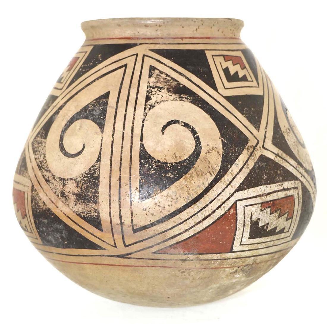 "8 1/4"" H. Casas Grandes Polychrome Jar.  Vintage - 2"