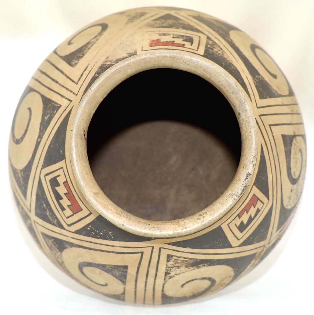 "8 1/4"" H. Casas Grandes Polychrome Jar.  Vintage - 3"