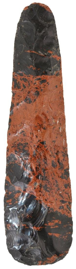 "8"" Mahogany Obsidian Blade.  Northern MX.  Well made,"