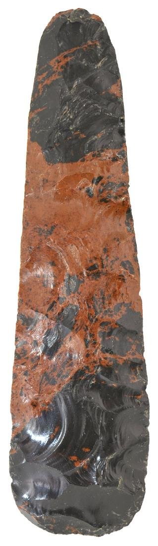 "8"" Mahogany Obsidian Blade.  Northern MX.  Well made, - 2"