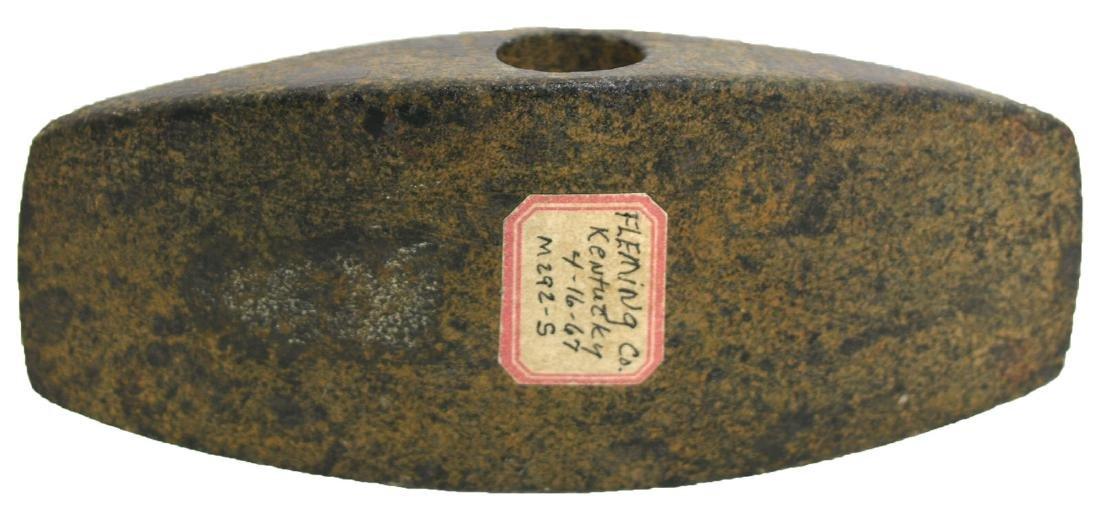 "4"" Rectangular Bannerstone.  KY.  Davis COA"