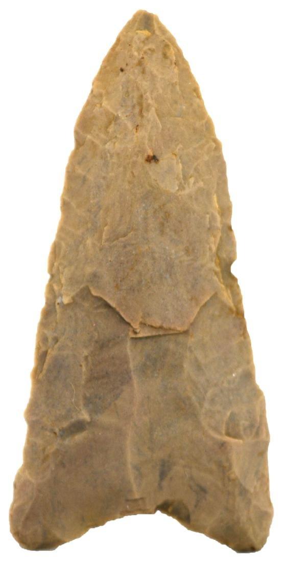 "2 1/2"" Redstone.  TN.  Rare Clovis type.  Dover, G10."