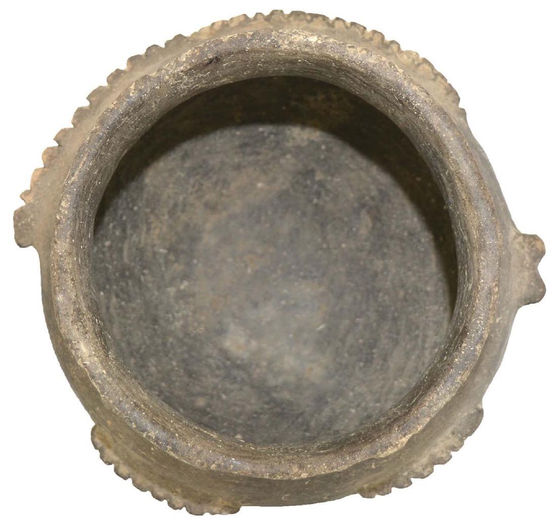 "6 1/4"" Fish Effigy Bowl. Stylized, headless bowl.  Cape"