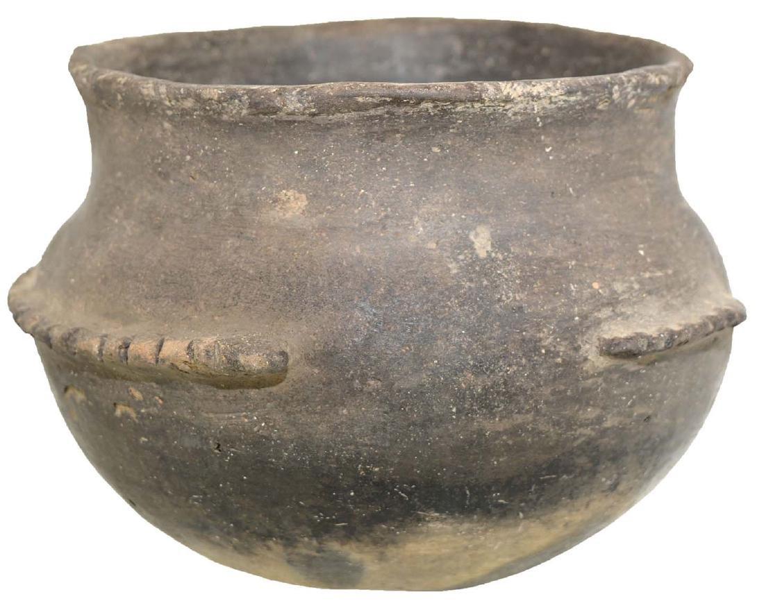 "6 1/4"" Fish Effigy Bowl. Stylized, headless bowl.  Cape - 2"