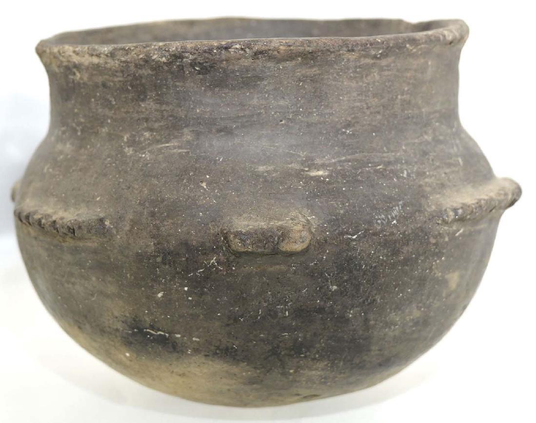 "6 1/4"" Fish Effigy Bowl. Stylized, headless bowl.  Cape - 3"