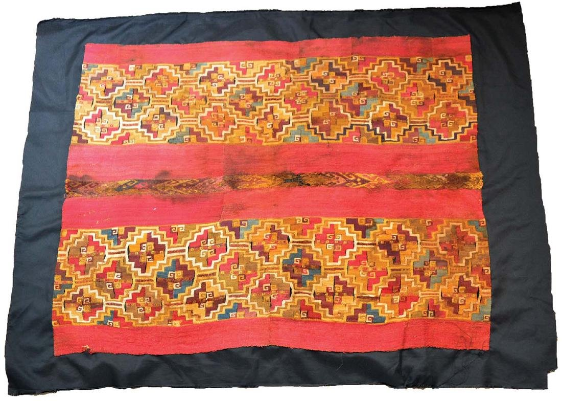 Wari (Peru) Culture Textile.  Very old example, pre