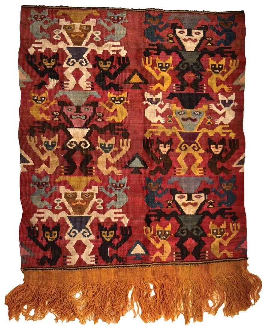 Chancay (Peru) Culture Textile.  1350-1450 AD.
