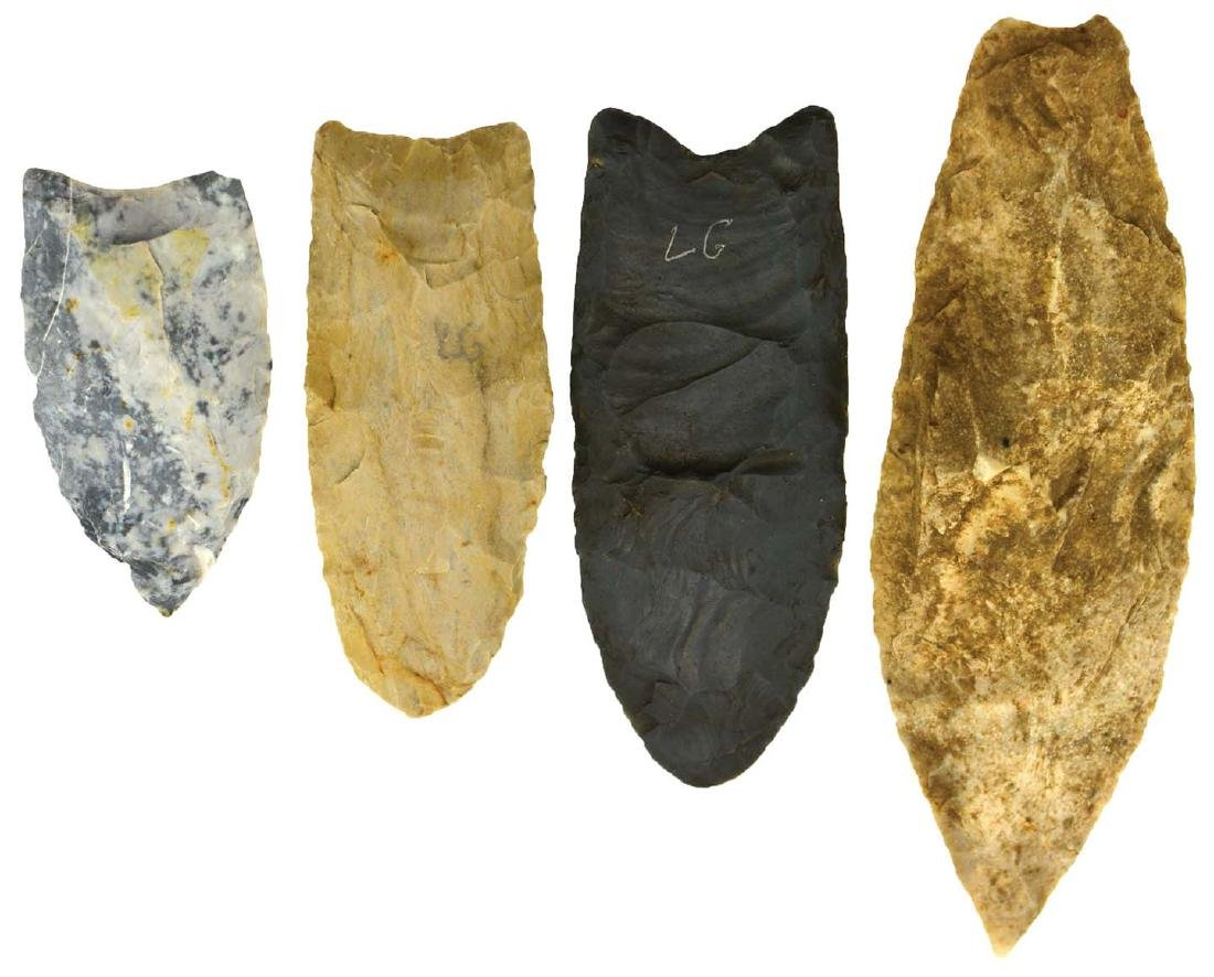 The remainder of the Guckert Collection:  12 Artifacts - 2