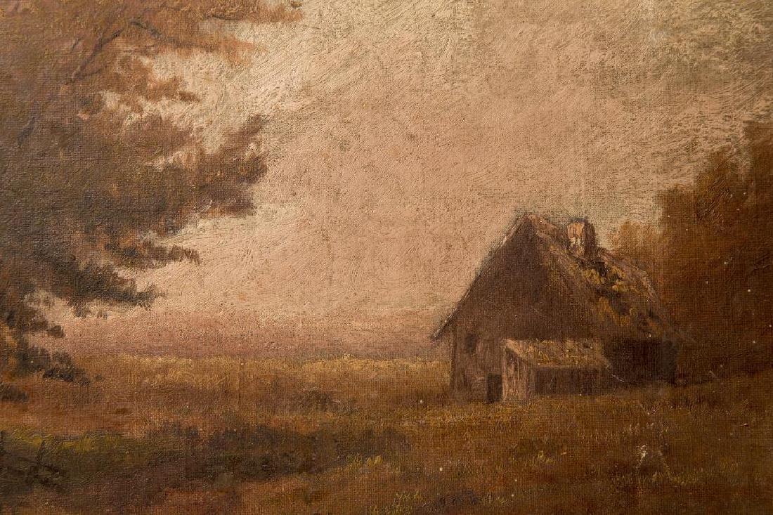 AN ATTR. HUGH H. HOWARD (1860-1927) OIL ON CANVAS - 4