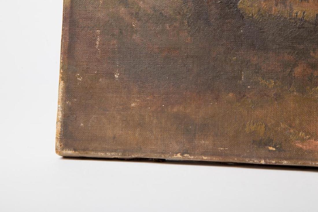 AN ATTR. HUGH H. HOWARD (1860-1927) OIL ON CANVAS - 5