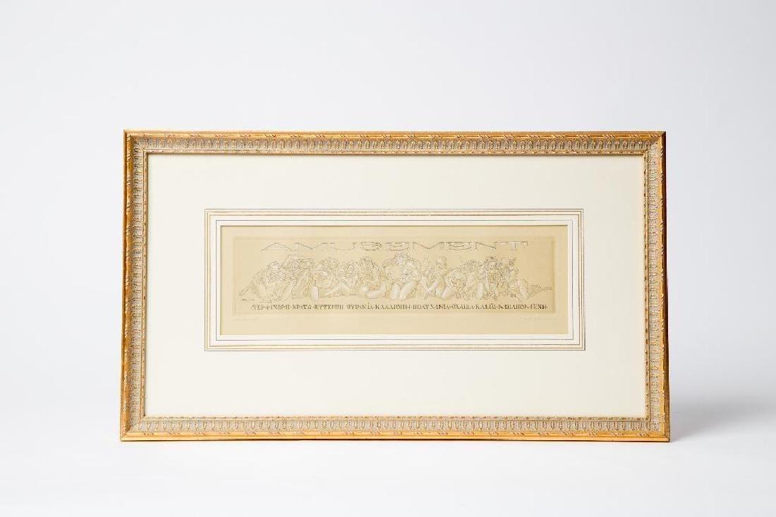 A PENCIL SIGNED TOM SHERWOOD ARTIST PROOF - 2
