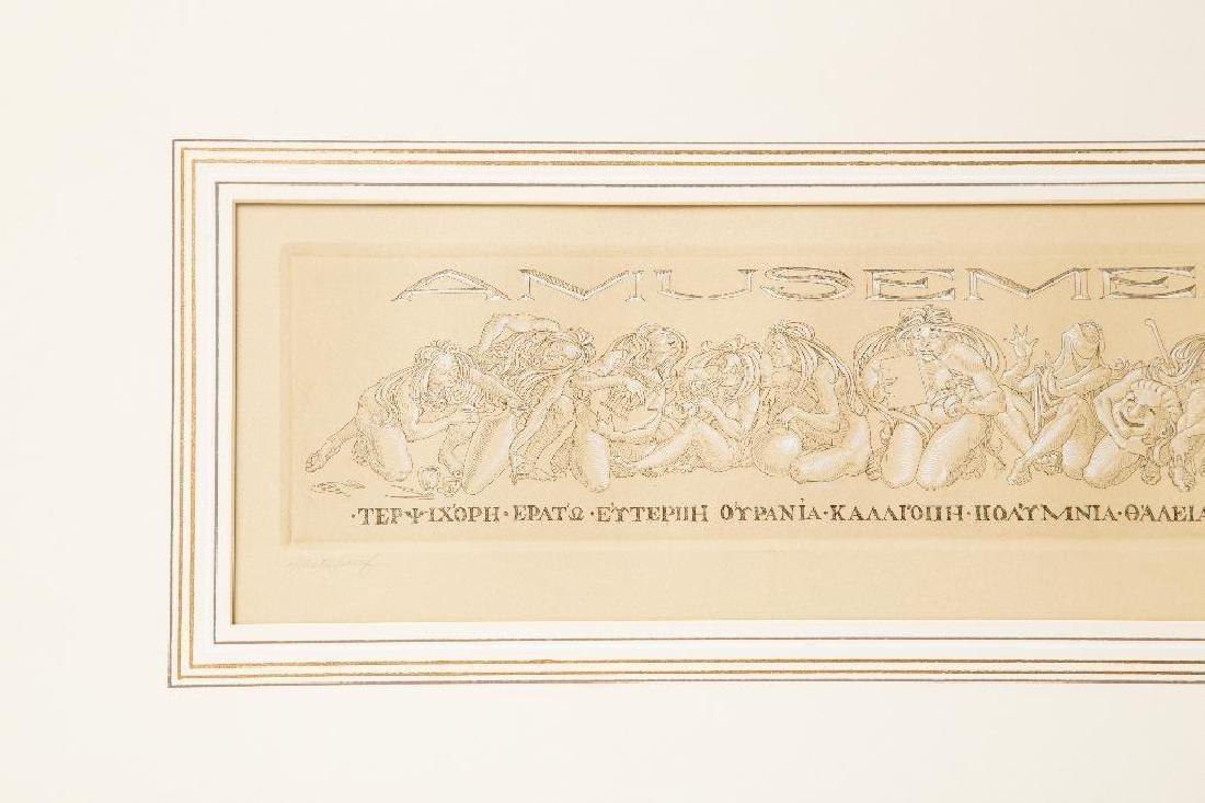 A PENCIL SIGNED TOM SHERWOOD ARTIST PROOF - 3