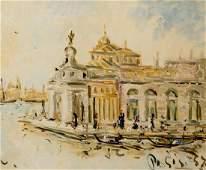 FILIPPO DE PISIS (1896-1956) OIL ON CANVAS
