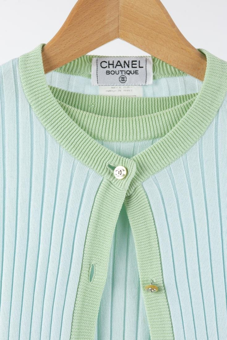 CHANEL BOUTIQUE SWEATER AND MATCHING TOP - 3